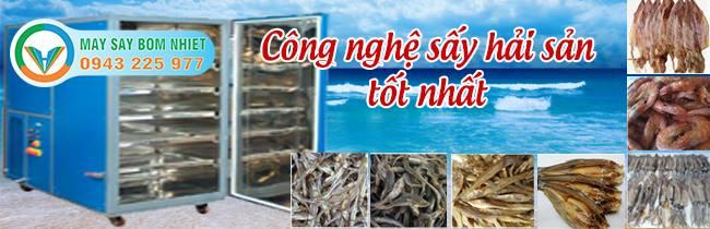 Máy sấy cá cơm