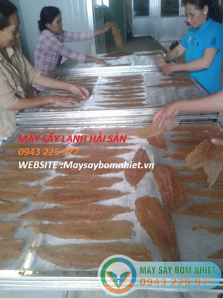 Máy sấy cá khô