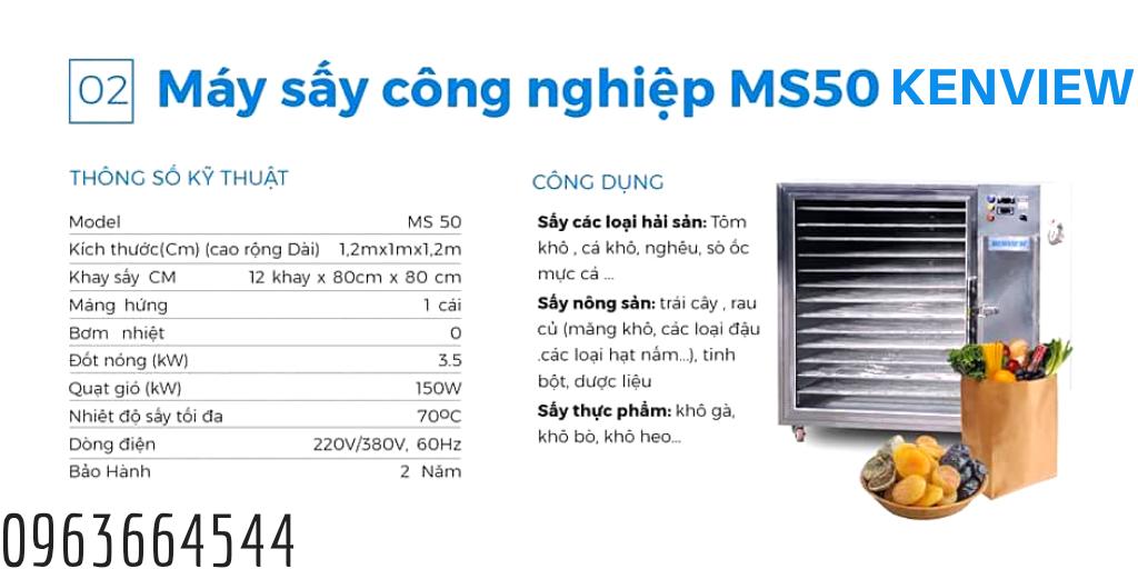Máy MS 50