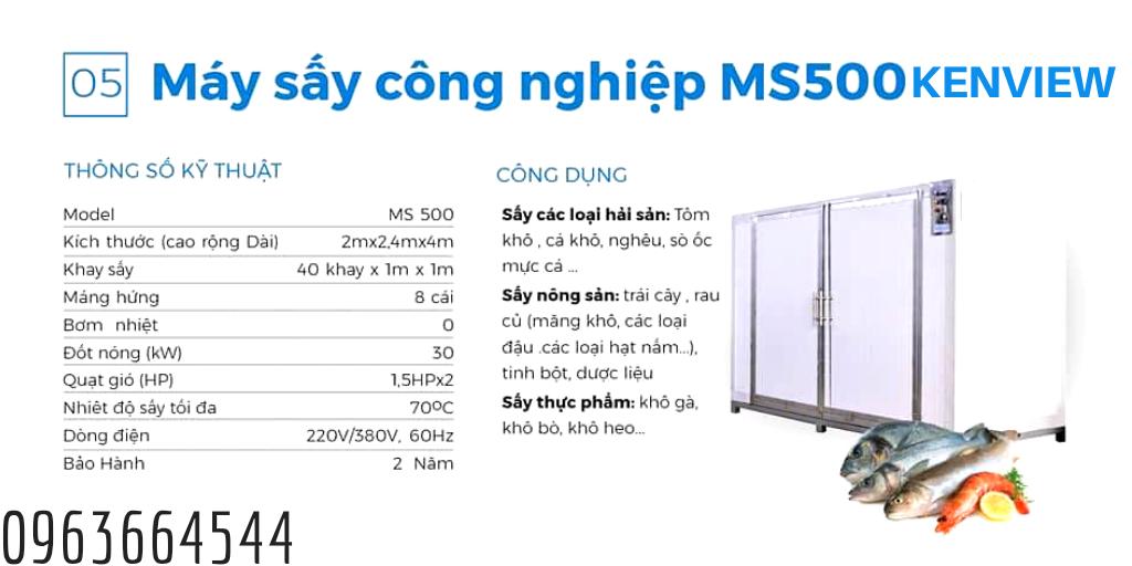 Máy MS 500