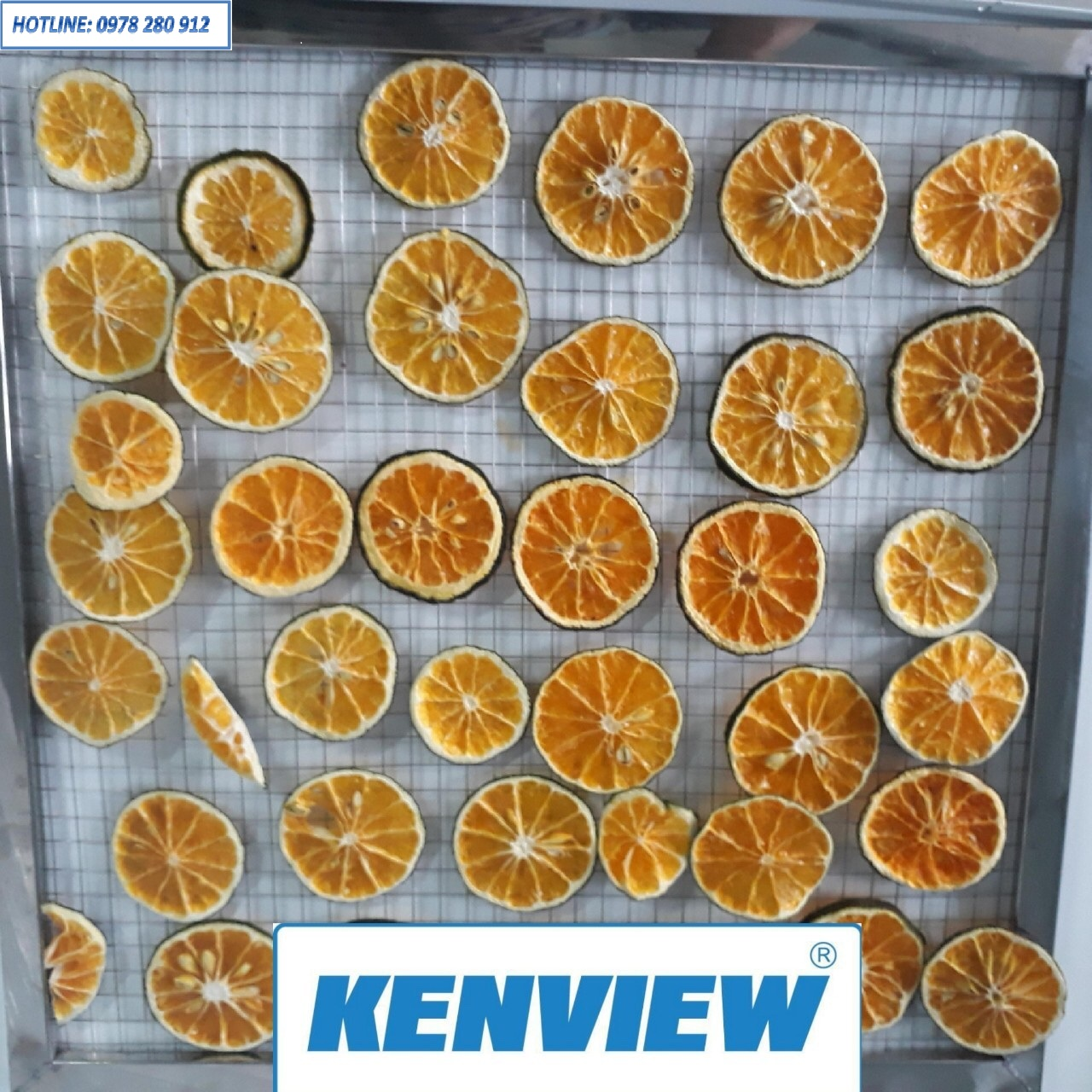 Cam sấy khô bằng máy sấy Kenview- 0978.280.912