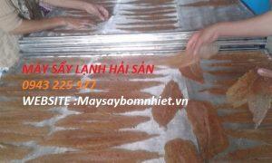 Máy sấy cá khô công nghiệp