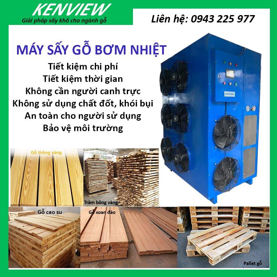 Bơm nhiệt sấy gỗ